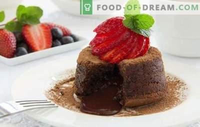 Umore al cioccolato: con il dolce - è facile! Ricette dolci al cioccolato per tutte le occasioni: cheesecake, log, biscotti, souffle