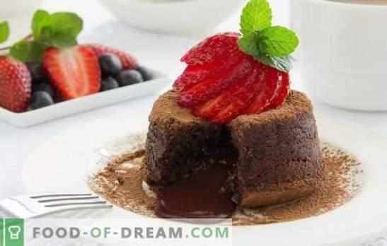 Чоколадо: со десерт - лесно е! Рецепти за чоколадни десерти за сите прилики: кукла, дневник, бисквит, суфле