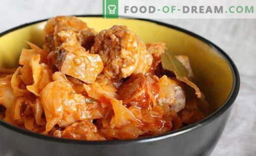 Cabbage solyanka - најдобрите рецепти. Како да правилно и вкусна готвачка супа од зеленчук.