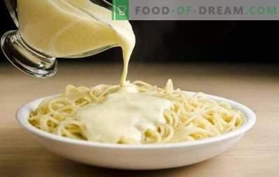 Вкусен крем сос за тестенини - клуч за совршено јадење! Рецепти крем сосови за тестенини со печурки, ракчиња, сирење, лосос