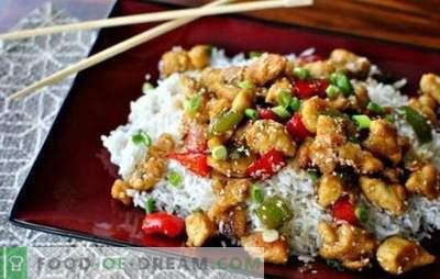 Малку фантазија: пилешкото филе со ориз е поубаво од деликатесите. Пијалаци од пилешко филе со ориз и кисела павлака, грав и печурки