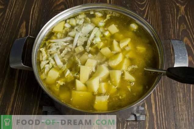 Супа од говедско месо