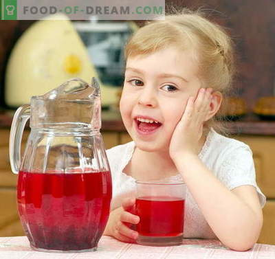 Компот за дете - најдобри рецепти. Како да правилно и вкусно компот за детето.