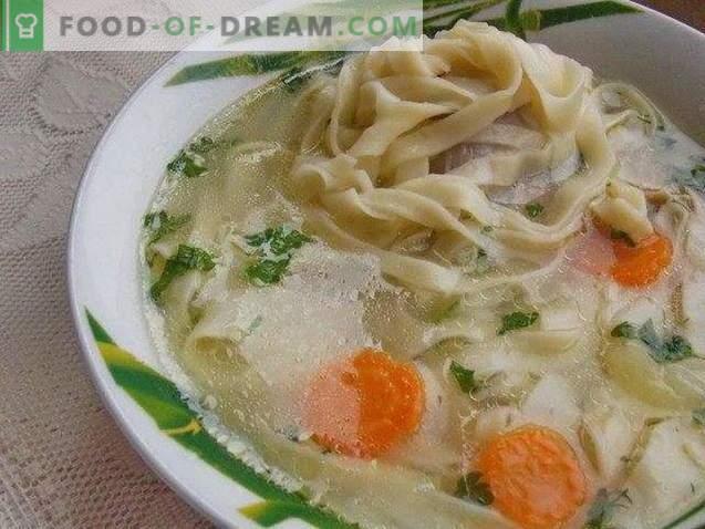 Супа од пилешко месо