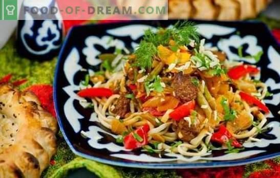 Чекор по чекор рецепт за lagman: карактеристики на азиската кујна. Што треба да биде