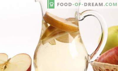 Компот од јаболка - најдобри рецепти. Како правилно и вкусно компотирање направено од јаболка.