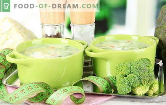 Супа од 7 дена - ефектот ќе биде! Неделни супа рецепти за слабеење: со кромид, домат, целер, зелка