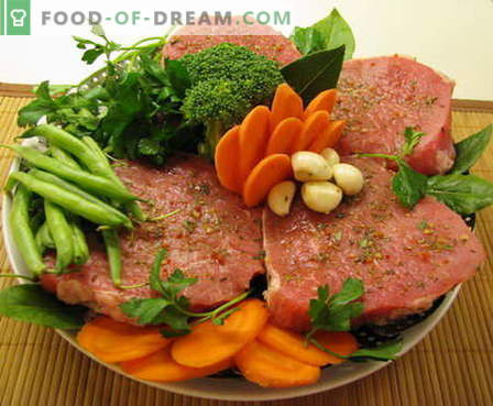 Vită în cuptor - cele mai bune rețete. Cum să gătiți carnea de vită în cuptor în mod corespunzător și gustoasă.