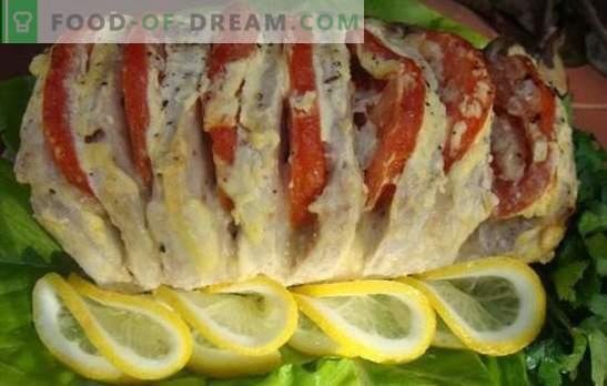 Свинско месо со домати - одмор на маса! Рецепти за сочни, вкусни свинско месо со домати: пржени, задушени, печени и сос