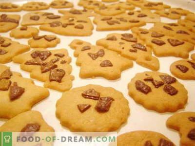 Shortbread - најдобри рецепти. Колку е вкусно да се готви колачиња од кромид.