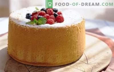 Бисквит за кефир се точно! Најуспешните рецепти за бисквити на кефир: печете во рерна и во мултикипер