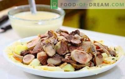 Beshbarmak од пилешко - вкусна и задоволувачка жешка за целото семејство. Најдобрите рецепти за бешбармак од пилешко