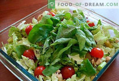 Салата со аспарагус - избор на најдобри рецепти. Како правилно и вкусно да се готви салата со аспарагус.