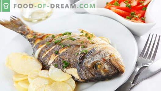 Пржена риба - најдобри рецепти. Како правилно и вкусно готви пржена риба.