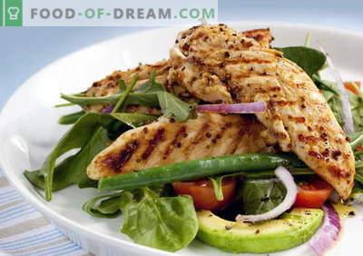Пилешко со авокадо - најдобрите рецепти. Како правилно и вкусно пилешко со авокадо.