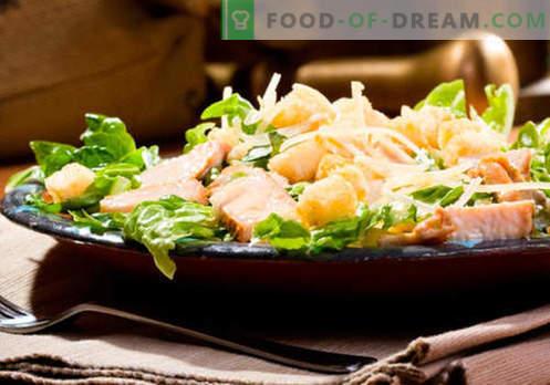 Салата со печурки и сирење - најдобрите кулинарски рецепти. Како правилно и вкусно варена салата со печурки и сирење.