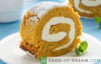Печење со тиква е вкусен начин да се користи богата жетва. Тиква колачи: пити, бухти, палачинки, ролна, торта