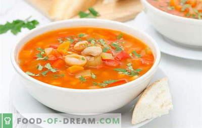 Супа од грав во мултикипак без проблеми. Рецепт грав супа во бавен шпорет од суви и конзервирана грав