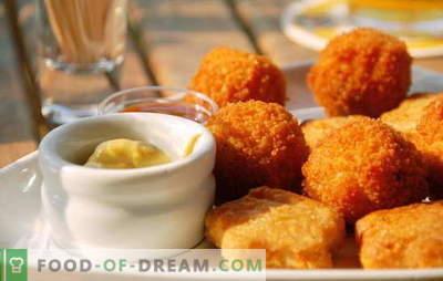 Грутки дома - многу tastier од купени! Секој кој сака брза храна: домашно купени рецепти