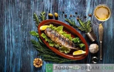 Кои зачини се потребни за риба, и кои зачини не се комбинираат со него?