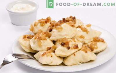 Кромиња со суровини компири - повеќе добро, помалку гужва. Рецепти на кнедли со суровини компири и сланина, мелено