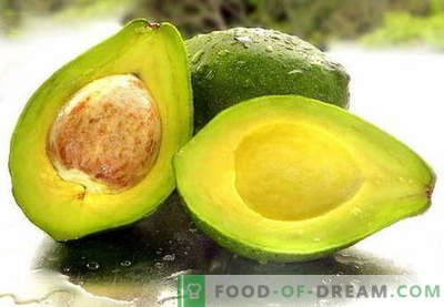 Авокадо - корисни својства, употреба при готвење. Рецепти со авокадо.