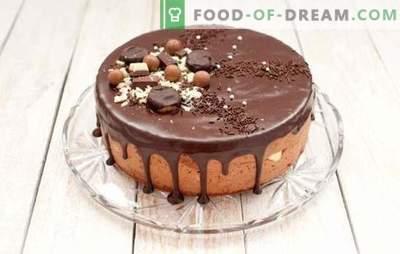 Пусти торта е цела чоколада. Едноставни пусти рецепти за торти: со цреши, мед, ореви, сливи, во рерна и бавен шпорет