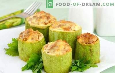 Тиквички печени во бавен шпорет - комбинација на леснотија и корист. Најдобрите рецепти на тиквички печени во бавниот шпорет