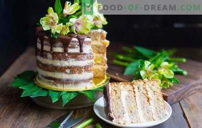 Торта за колачи - овошен послужавник и сочни бисквити. Избор на колачи