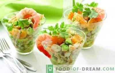 Лесни салати без мајонез: вкусна, задоволувачка, нова. Најдобрите рецепти за лесни салати без мајонез со сирење, јајца, леб од пита, треска од црн дроб