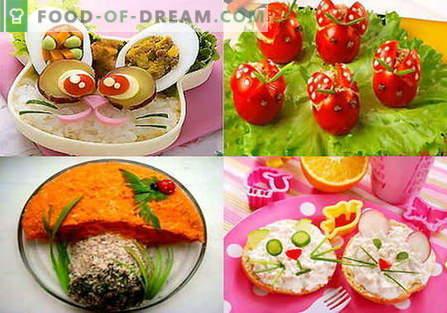 Детски салати - најдобри рецепти. Како правилно и вкусно да се подготви детска салата.