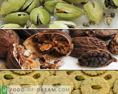 Кардамон - опис, својства, употреба при готвење. Рецепти со кардамон.