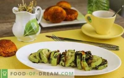 Брзо рецепт за диета на тиквички - како да губат телесната тежина со задоволство? Диета на тиквички: брз рецепт во рерната, бавен шпорет