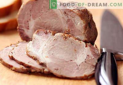 Домашна свинско месо - најдобри рецепти. Како правилно и вкусно сварено свинско дома.