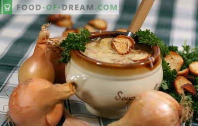 Класичната супа од кромид е омилен рецепт на Александар Дума! Рецепти класични кромид супи од француски гурмански