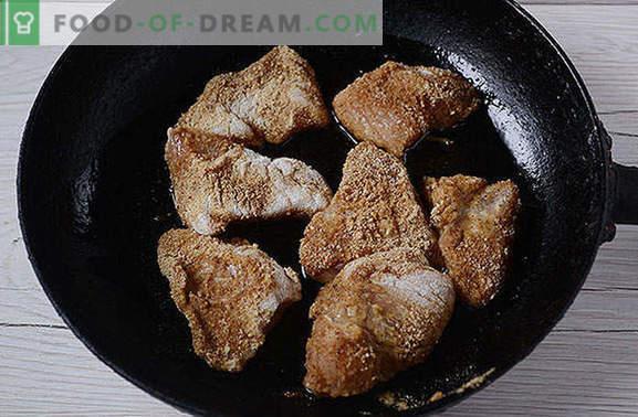Panierowany kurczak marynowany w sosie sojowym - gotować przez 20 minut! Foto-przepis krok po kroku panierowanego fileta z kurczaka o orientalnym smaku