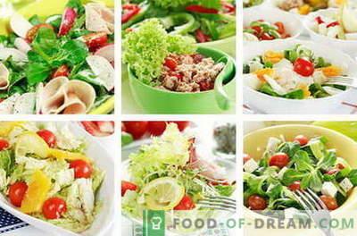 Диетални салати - најдобри рецепти. Како да правилно и вкусна диета исхрана подготвена.