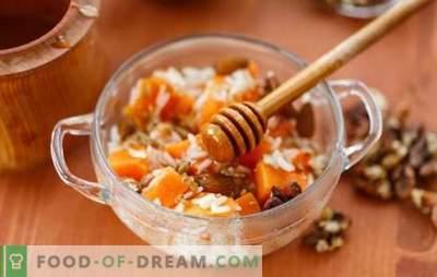 Lenten frukost är smaklig, varierad och hälsosam. Varianter av rätter, recept och sätt att laga fasta frukost
