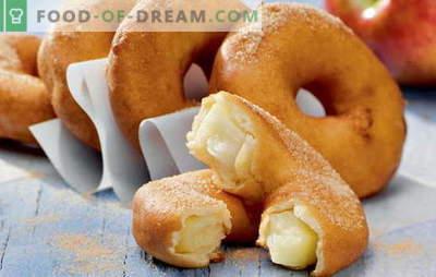 Крофни дома - подуени прстени! Рецепти за домашна крофни со квасец, кефир, урда, кондензирано млеко и полнети