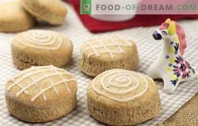 Домашен джинджифилово - едноставни колачи со неверојатен вкус. Рецепти за домашно месо од джинджие: ванила, чоколада, ѓумбир, мед, афион