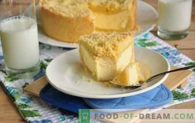 Кралска кукла (чекор по чекор рецепт) - прекрасен десерт од сирење. Кралска Кукла во бавен шпорет: чекор по чекор рецепт