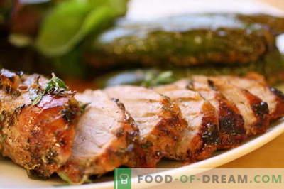 Smażona wieprzowina na patelni - najlepsze przepisy. Jak właściwie i smacznie gotować pieczoną wieprzowinę.
