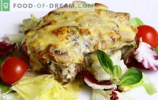 Месото во капетанското месо е јадење со историја! Различни рецепти за месо во капетан: со компири, печурки, домати, сирење