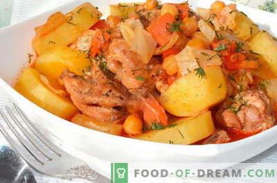 Печена кокошка - најдобри рецепти. Како да правилно и вкусно готви печено кокошка.