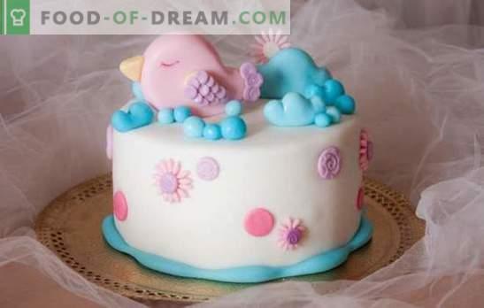 Торта за девојка со свои раце - правиме прекрасен десерт! Најдобрите рецепти за едноставни домашни колачи за девојче го прават тоа сами