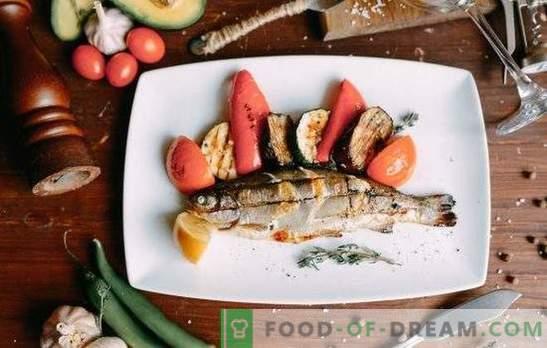 Пастрмка на скара е прекрасна риба! Најдобри маринади со лимон, вино, сос од соја, анасон, портокал за печена пастрмка