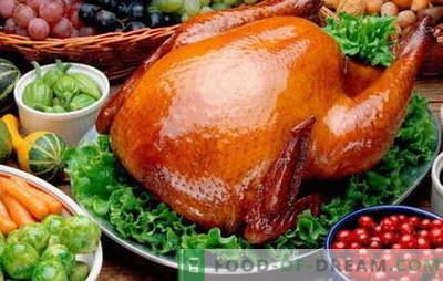 Печени пилешки - најдобри рецепти. Како да се готви печени кокошки.
