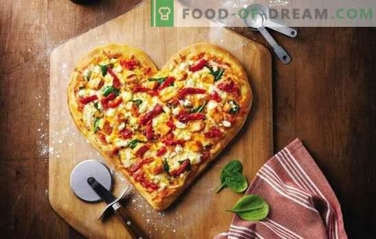 Мајонезната пица е омилено јадење без проблеми. Избор на рецепти за пица тесто во мајонез