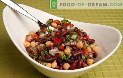 Рецепти за вкусни и едноставни салати со конзервирана грав и други производи. Брзо готвење: едноставни салати со грав