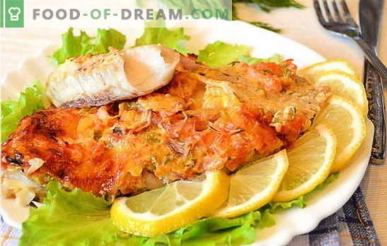 Како да се готви риба филе во рерна е вкусна и лесна? Избор на рецепти од риба филе во рерна: со компири, во фолија, првично
